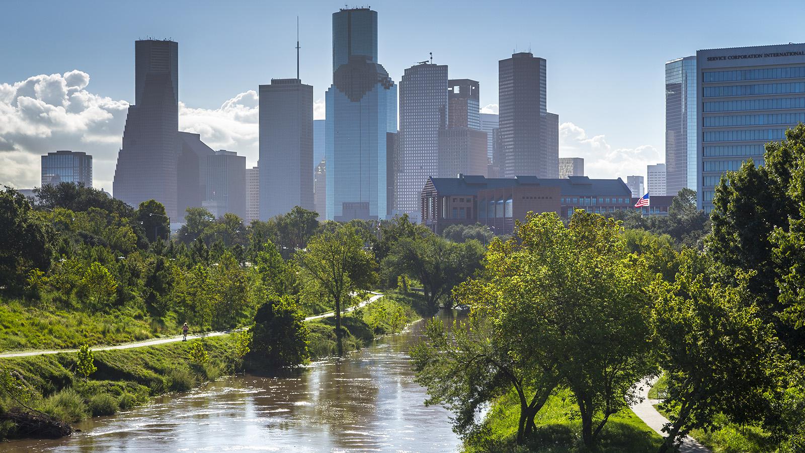 Bay area landscape architects -  Buffalo Bayou Park Houston Texas