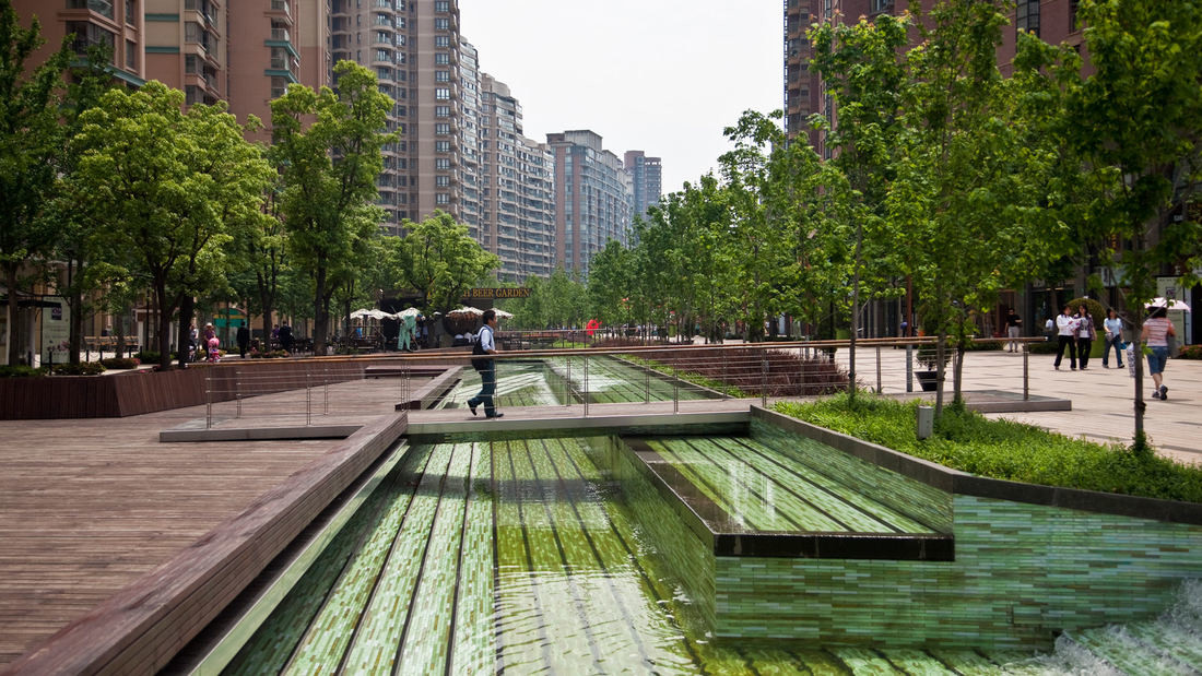Gubei gold street for Swa landscape architecture