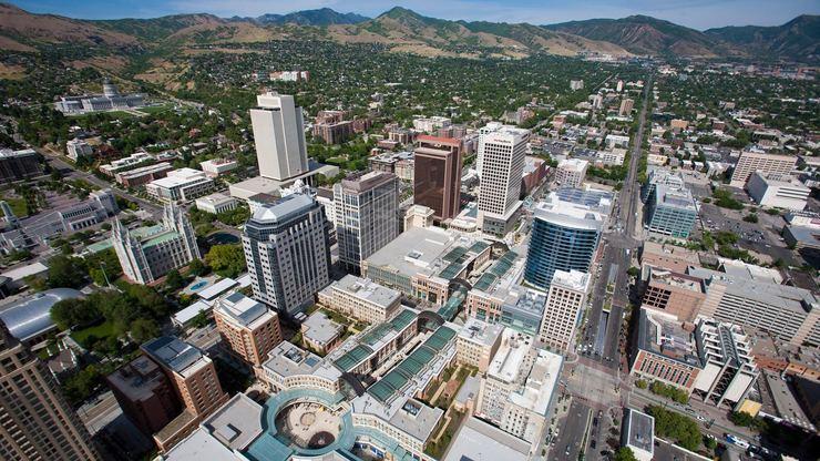 City Creek Center, Salt Lake City, UTAH