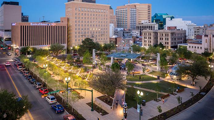 San Jacinto Plaza - El Paso, Texas