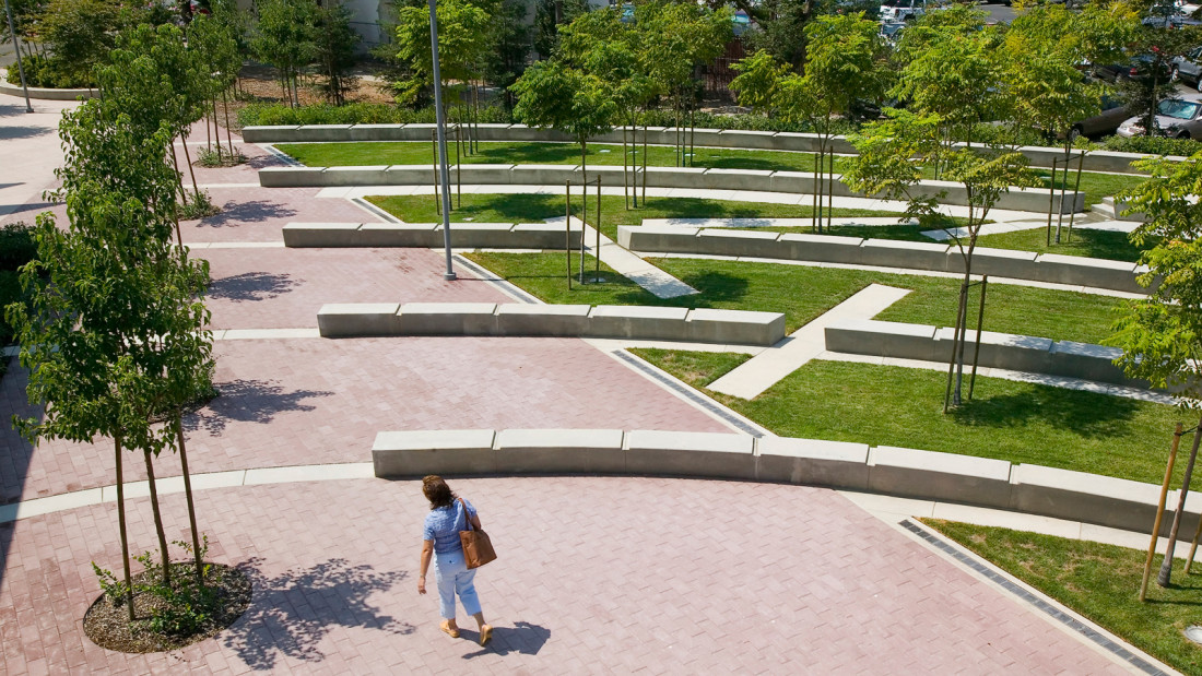 Ucsf medical center for Spaces landscape architecture