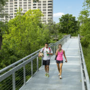 Katy Trail Ramp, ADA accessible, wheel chair acessible