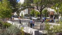 <p>Active community engagement in the plaza's design process revealed cultural motifs, historic artifacts, and time-honored programs, so that the resulting plaza embraced a fusion of history and future aspirations.</p>