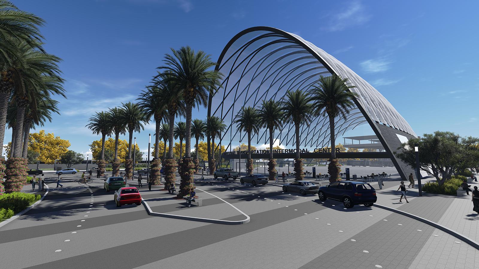 Anaheim Anaheim Regional Transportation Intermodal Center Uc