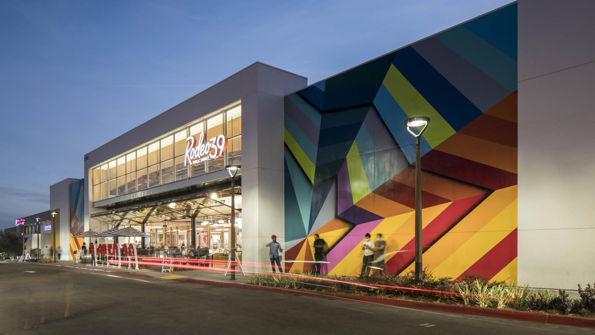 Rodeo 39 landscape Architecture Commercial retail space SWA design